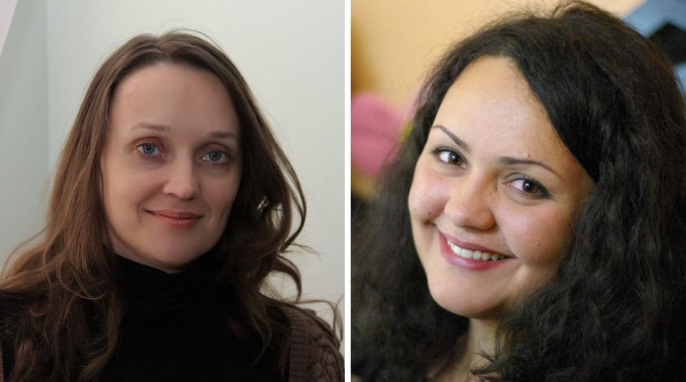 Анна Рогова и Оксана Тевелева